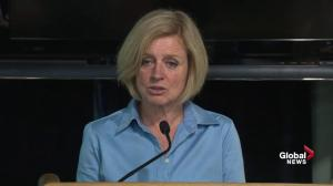Fort McMurray residents won't be allowed to return for a few days: Notley