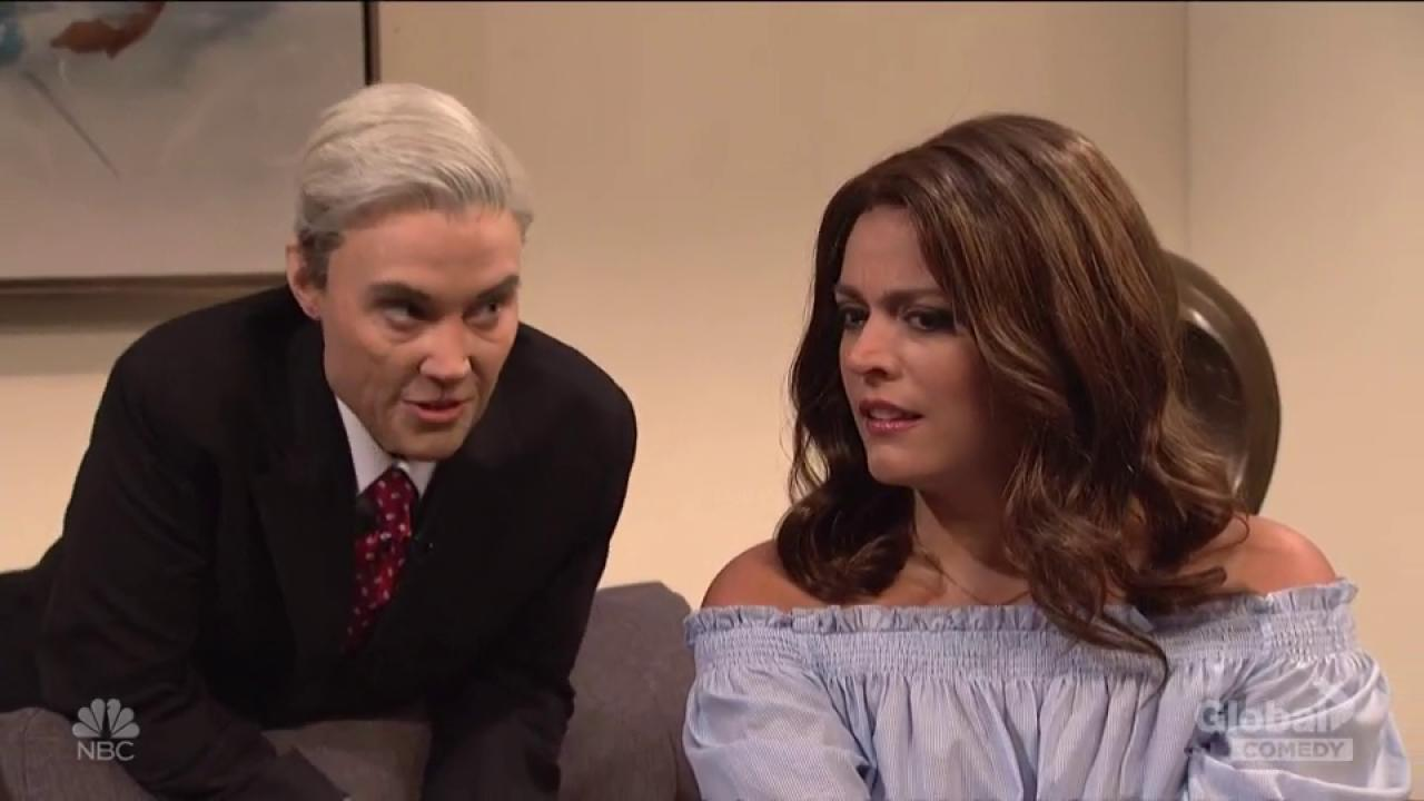SNL's Robert Mueller can't quite commit to collusion charges on The Bachelor