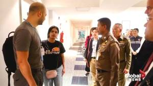 Thailand, UNHCR confer on Saudi teen barricaded in Thai hotel
