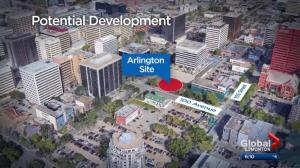 Buzz builds over possible development coming to long-vacant site in downtown Edmonton
