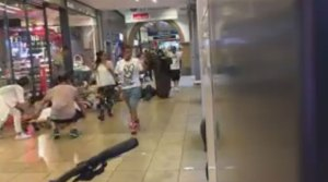People asked to keep hands up, lie on floor in mall following Munich, Germany shooting