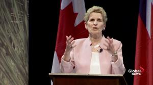 Wynne defends against accusation northern Ontario an 'afterthought' in her government
