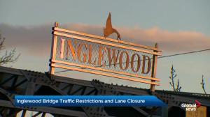 Calgary's Inglewood Bridge facing traffic restrictions