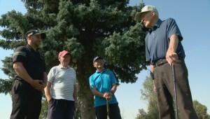 Southern Alberta veteran still golfing at 97