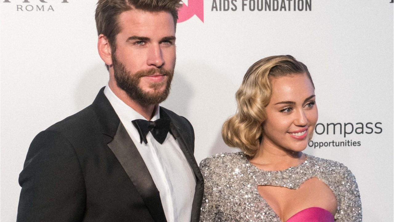 Miley Cyrus, Liam Hemsworth dance to 'Uptown Funk' in wedding video
