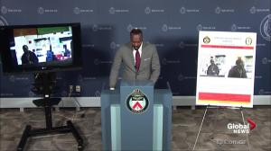 Police update on investigation into 18-year-old shot in Toronto
