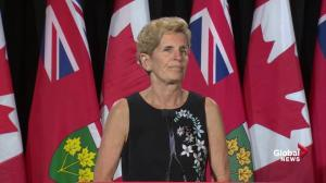 Wynne: Doug Ford connected with millions of people in Ontario