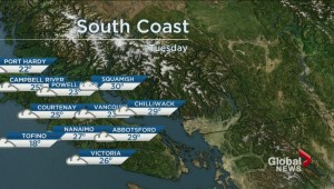 BC Evening Weather Forecast: Aug 20