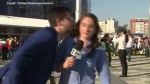 Brazilian World Cup reporter dodges fan who tried to kiss her, gives earful to 'shameful' fan
