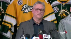 """We are heartbroken and completely devastated:"" Humboldt Broncos president on tragic crash"