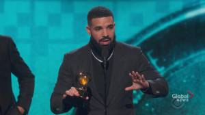 Drake says kids have 'already won' if people are listening to their songs during Grammy Awards