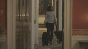 Michelle Obama takes one last walk through White House
