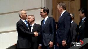 U.S., China wrap-up 'constructive' trade talks on Friday