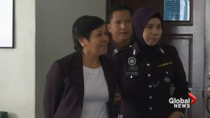 Malaysian court sentences Australian grandmother to death for drug trafficking