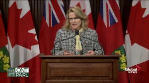 Jones: Blair firing decided by public service commission and OPP