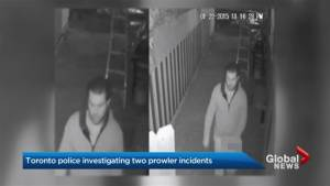Toronto police looking for new leads finding prowler in city's west end