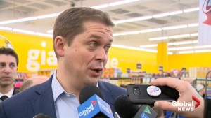 Scheer holds conference to 'warn Canadians' about cost of Liberal carbon tax in 2019