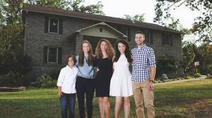 How mother of four who fled domestic violence built home with YouTube videos