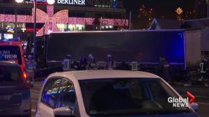Truck rams into Christmas market in Berlin Germany