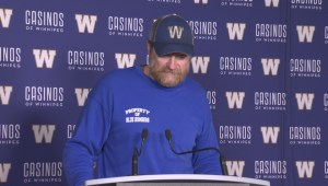 RAW: Blue Bombers Mike O'Shea Media Briefing – Nov. 15