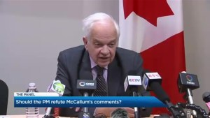 What should Trudeau do about John McCallum?