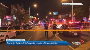 Toronto police release findings of Danforth shooting investigation