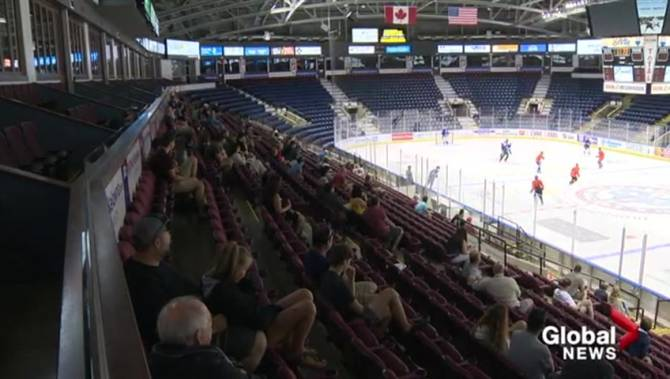 Rockets' road to Memorial Cup takes to the ice at rookie camp in Kelowna