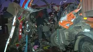 At least 36 dead after a road accident in Kenya's Rift Valley