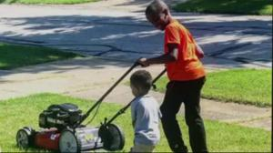 Cleveland boy's lawn mowing business booms after woman calls police