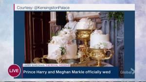 Royal Wedding: Prince Harry and Meghan Markle's wedding cake revealed