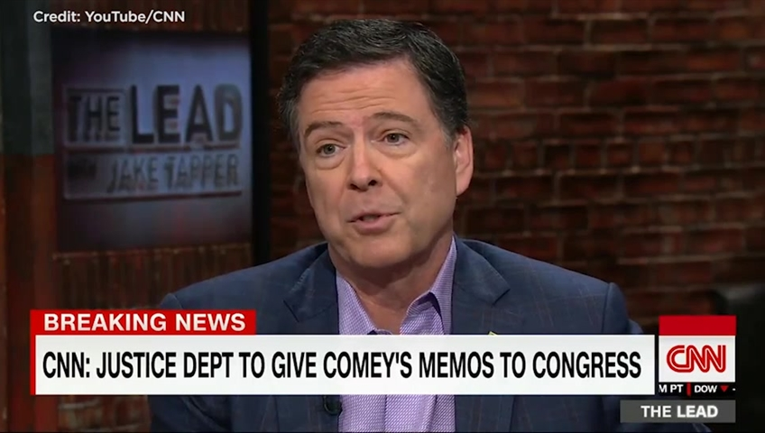 Comey memos detail conversations with President Trump
