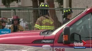 Investigators return to scene of west Edmonton apartment building fire