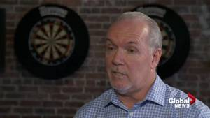 John Horgan on the Kinder Morgan pipeline