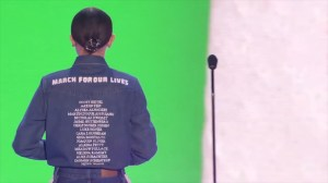 Millie Bobby Brown wears names of Florida school shooting victims at Kids Choice Awards