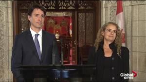 New governor general describes David Johnston a 'pillar of wisdom'