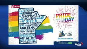 Manitoba Moose host first pride theme game