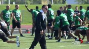 Riders get ready for 1st pre-season game