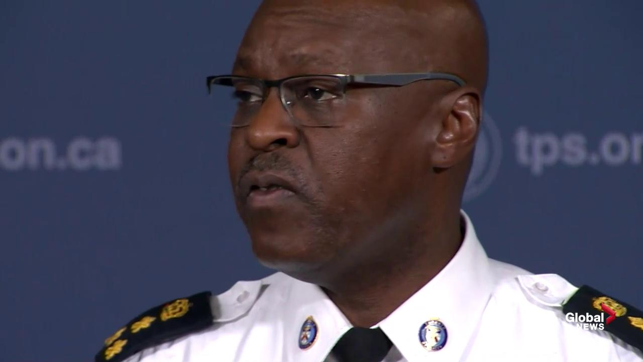Mark Saunders: Gang violence in Toronto now about monetary gain