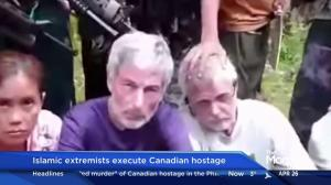 Islamic extremists execute Canadian hostage