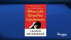 When Life Gives You Lululemons – author Lauren Weisberger's new book
