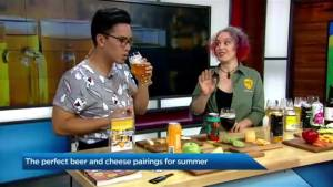 Pairing the right beer and with the best cheese (04:36)