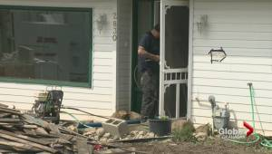 Flood waters leave behind major cleanup job in Armstrong
