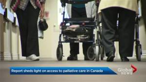 Few Canadians have early access to home palliative care: study