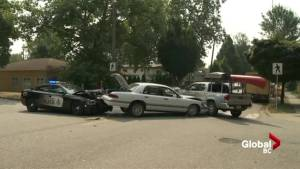 Driver arrested following 3-car collision on Victoria Drive in East Vancouver