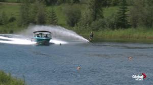 2018 Canadian Water Ski Open at Edmonton's Shalom Park