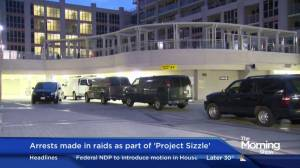 Arrests made in GTA raids as part of 'Project Sizzle'