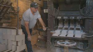 Molding Saskatchewan History: The Claybank brick plant