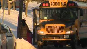 School bus cancellations for the third day in a row in Kingston