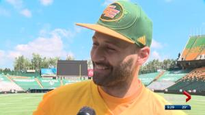 Eskimos' Mike Reilly has learned a lot about Canadian culture (and poutine)