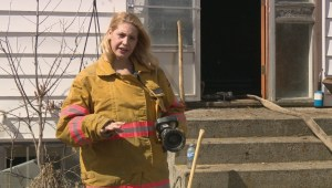 Volunteer firefighters receive training, but ask for respect